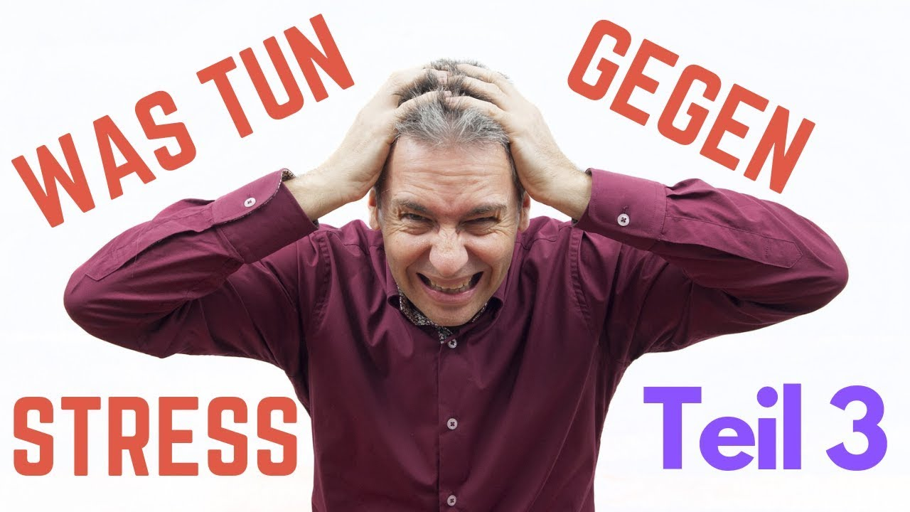 Stress loswerden